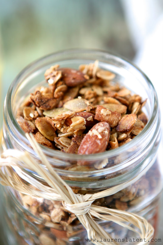 Loaded Pepita Granola 2