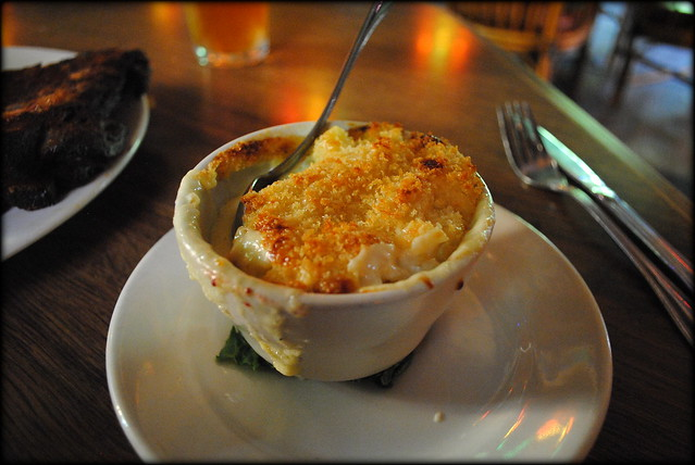 Side of their famous mac n cheese at Skyway Inn - Zigzag, Oregon