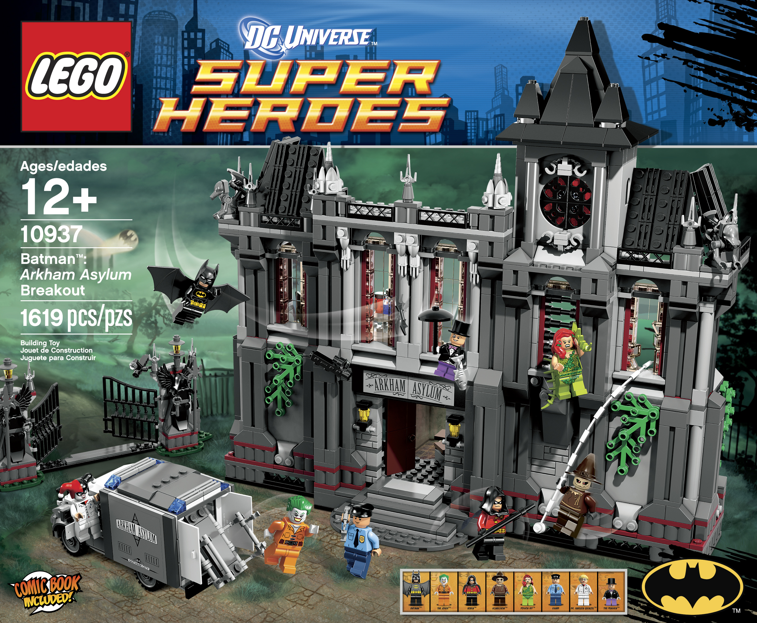 All Lego Toys : Lego batman arkham asylum breakout the toyark news