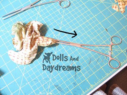 Hemostats turning dolls softies limbs  3