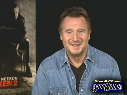 Liam Neeson (Taken 2) on Sidewalks Entertainment