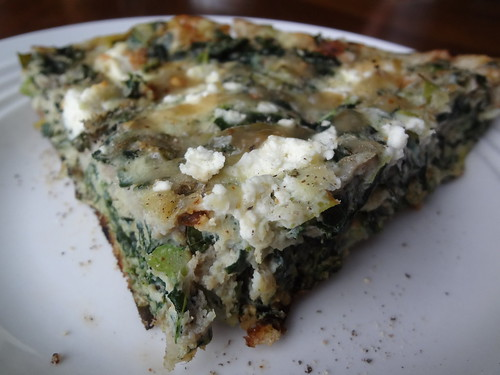 2012.10_broccoli green and goat cheese frittata