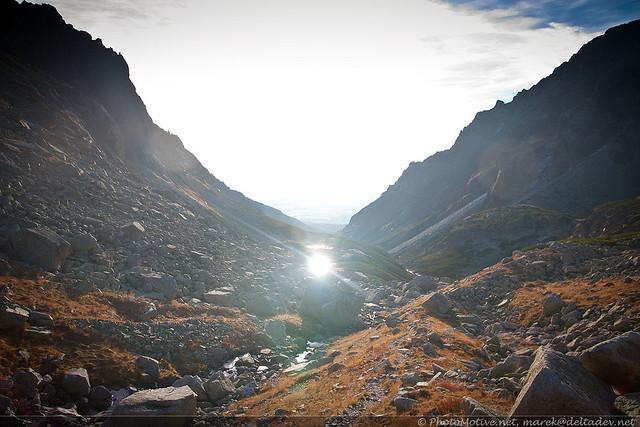 Dolina Staroleśna z rana