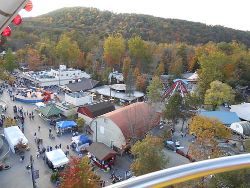 above people ariel buildings view pennsylvania over ferriswheel amusementpark lookingdown knobels msh1012 msh10126