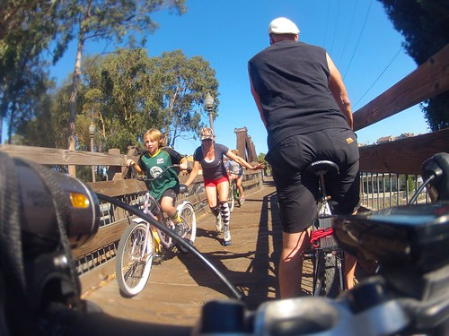 Santa Cruz bike path