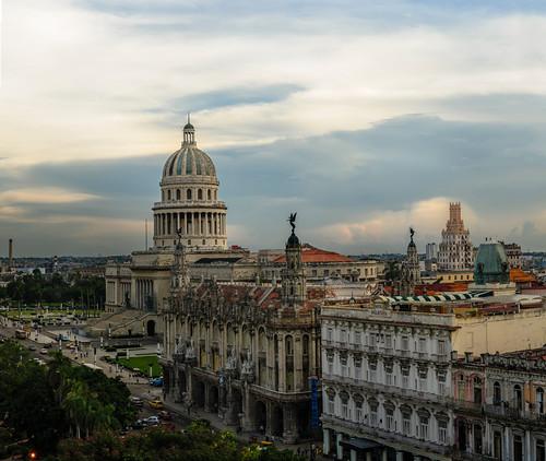 La Habana, Cuba, Capitolio by Rey Cuba