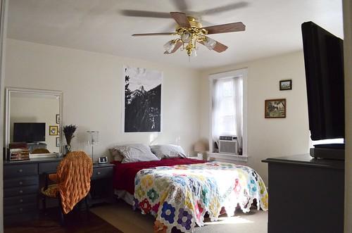Bedroom from the door