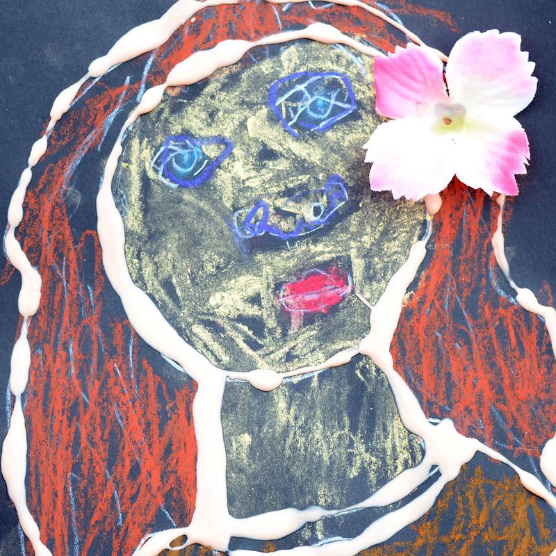 V's self portrait