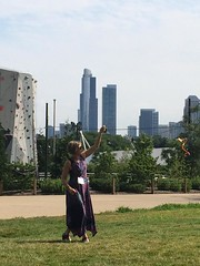 Kite Flying in Chicago