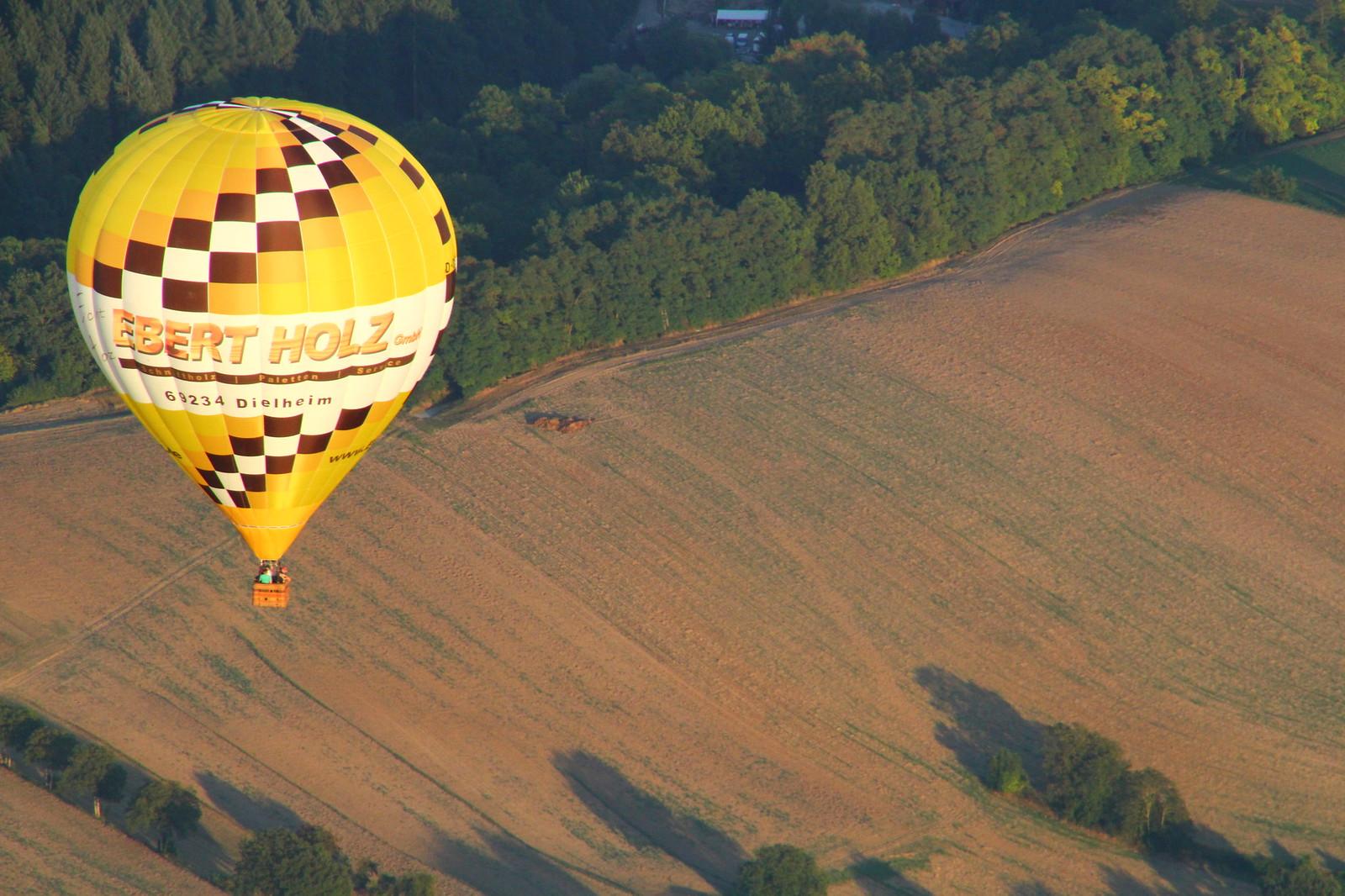 Alltagsfluchten Ballonfliegen Deutschland