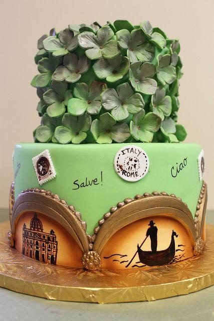 Italian Scenery Cake by Alliance Bakery