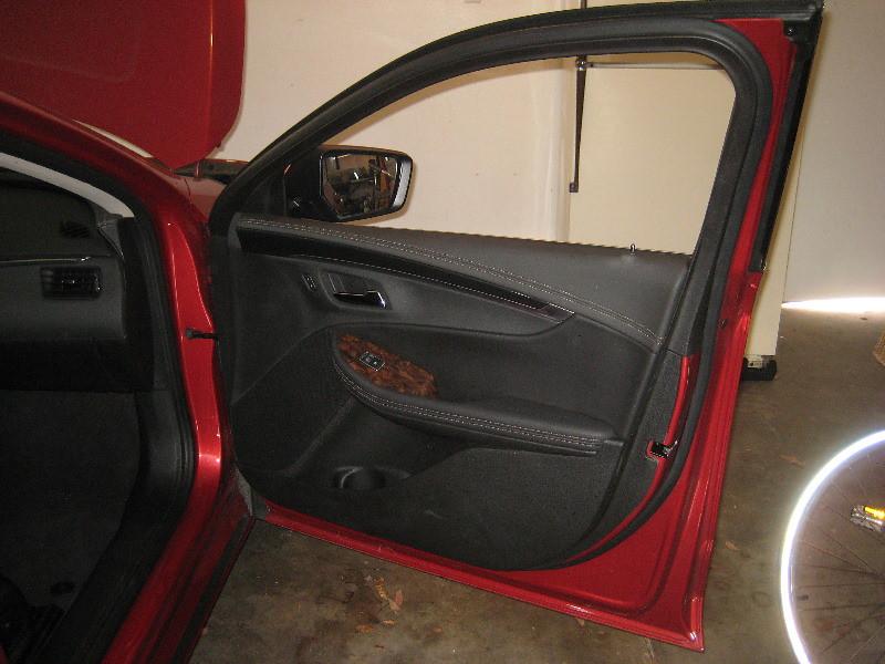 2014 2018 Gm Chevrolet Impala Plastic Interior Door Panel Take Off