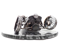 Morgan 3 Wheeler Sculpture
