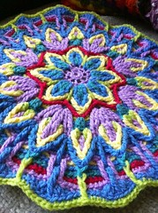 2nd mandala finished close up
