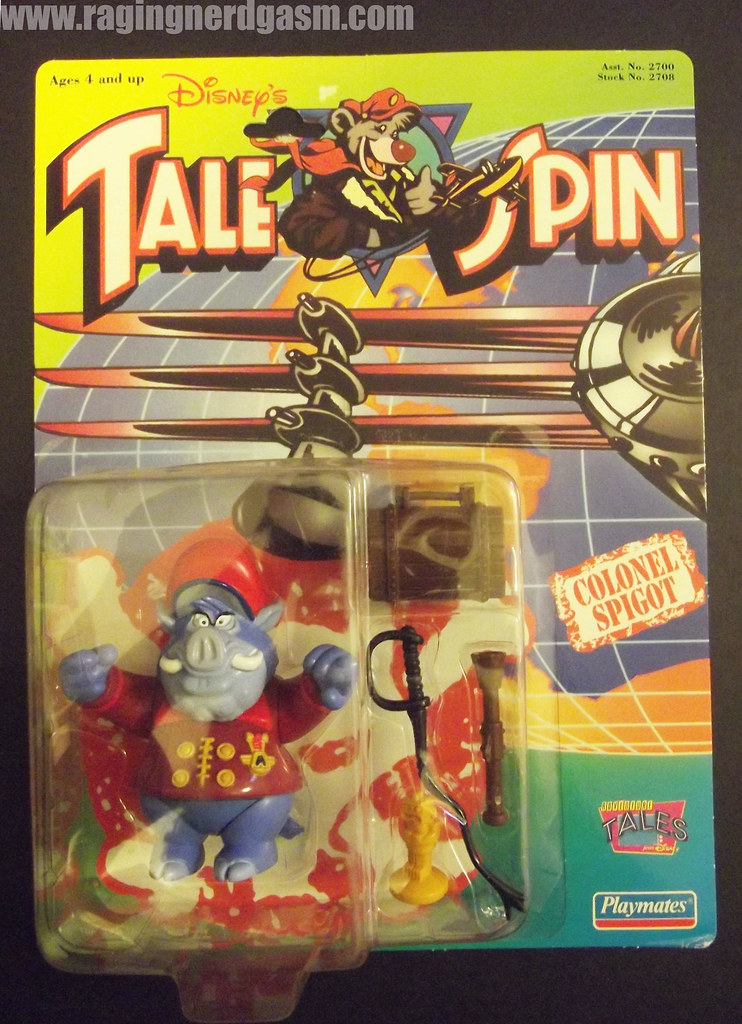 Dysney's Tale Spin Action Figures by Playmates 1991 030