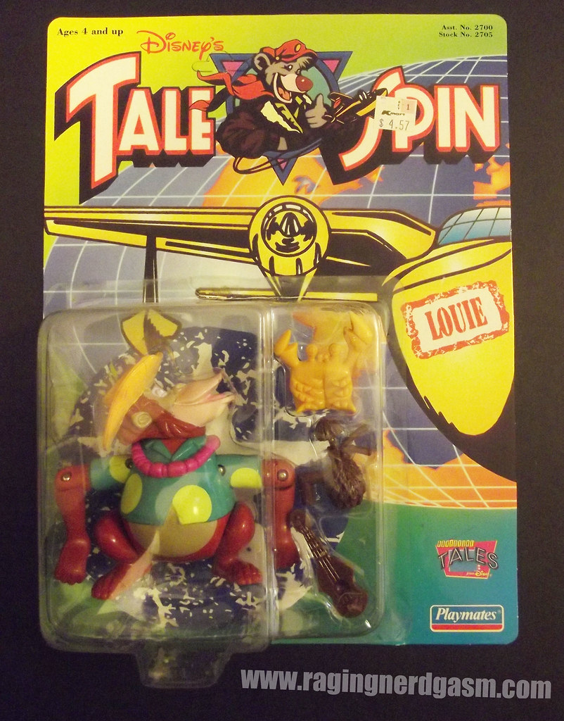 Dysney's Tale Spin Action Figures by Playmates 1991 026