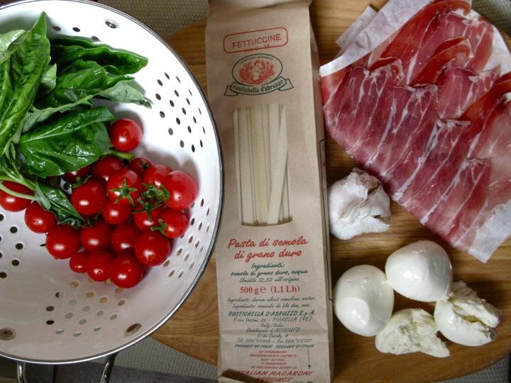 summer pasta dinner 001