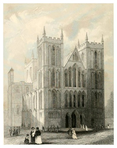 015-Catedral de Ripon-Winkles's architectural and picturesque illustrations of the catedral..1836-Benjamin Winkles