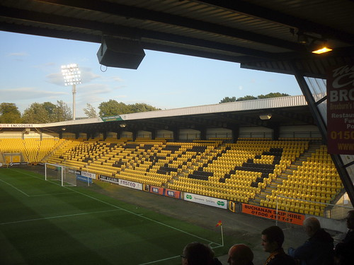 Almondvale Stadium, Livingston, South Stand