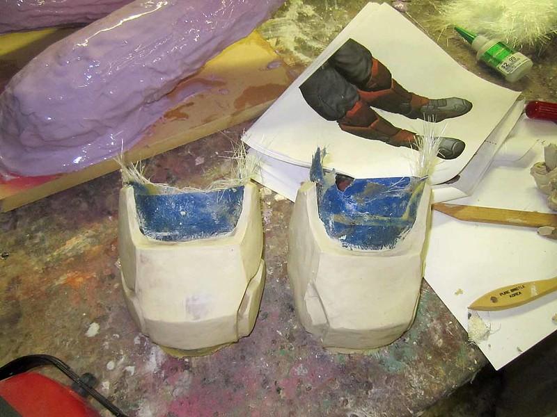 Toe Sculpts in Progress
