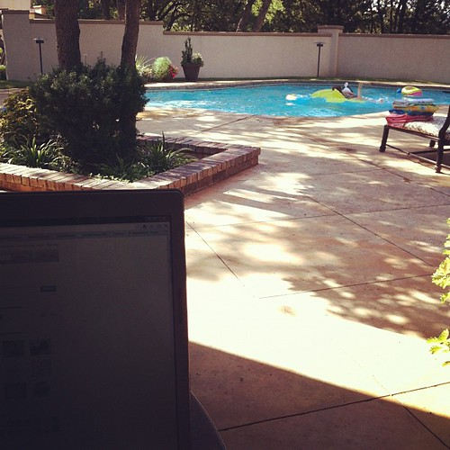 this is my office today... :)