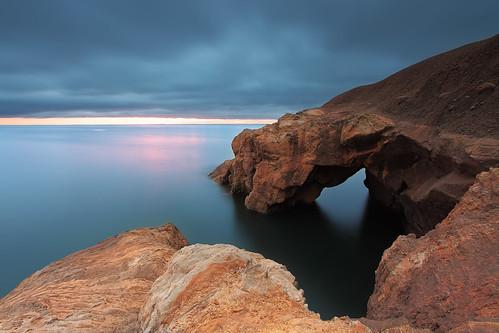 uk longexposure rock sunrise coast arch turtle north coastal northern northeast cullercoats steveclasper