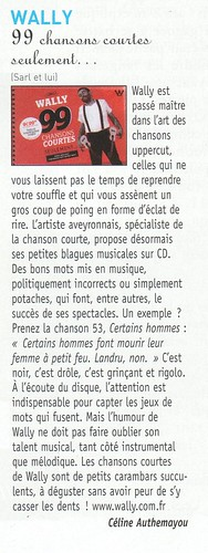 Francofans chronique wally jui11