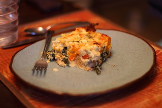 Roasted Vegetable Bread Pudding 4