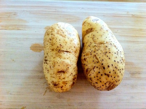Scrubbed Russet Potatoes