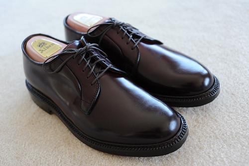 Alden Plain Toe Blucher Oxford