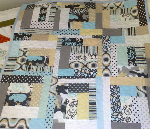 Blue Hippo Quilt by Blue Wren Stitching