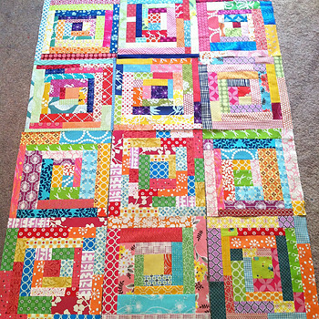 100 Quilts for Kids Layout