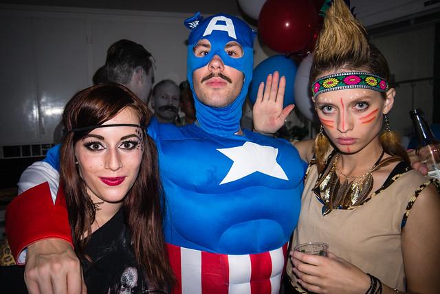 Kicki's American surprise party