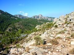 Retour Monaco-Naseu : vers Punta Furcuta et Capellu
