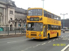 [WITHDRAWN 12/07/2013] Plymouth Citybus Volvo B10M 187 F604GVO is seen powering up North Hill on the 120 to Trerulefoot.