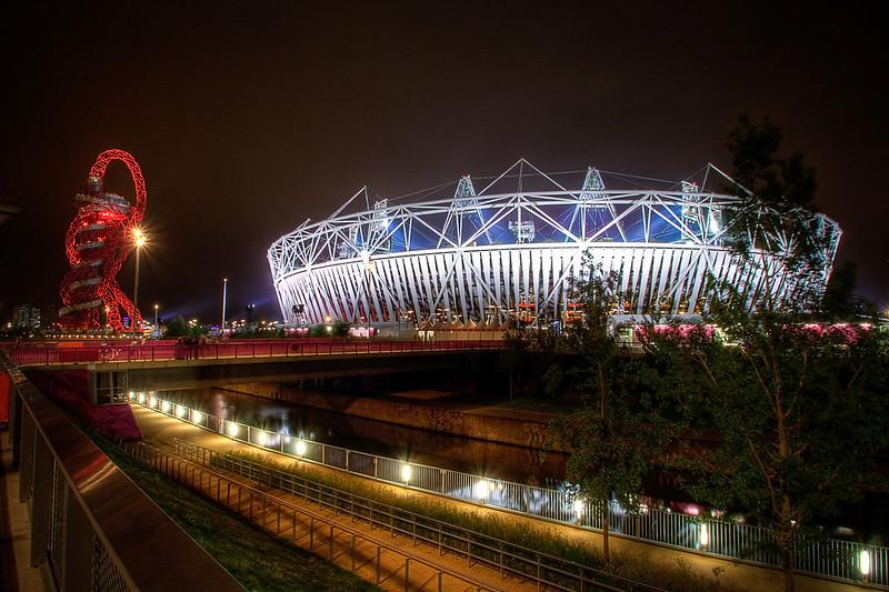 London Olympic stadium 2012