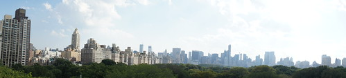 New York Skyline from Met Roof Garden