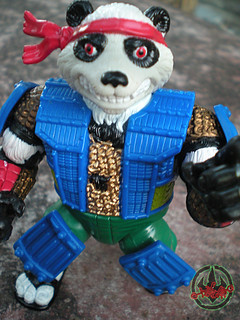 TEENAGE MUTANT NINJA TURTLES :: PANDA KHAN / SCRAMBLED VARIANT xi (( 1990 ))