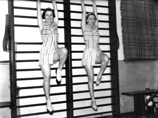 Tivoli girls practicing, Brisbane 1935