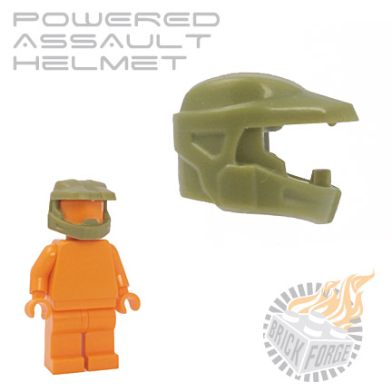 Powered Assault Helmet - Olive Green