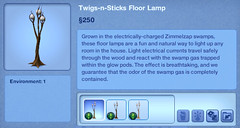 Twigs-n-Sticks Floor Lamp