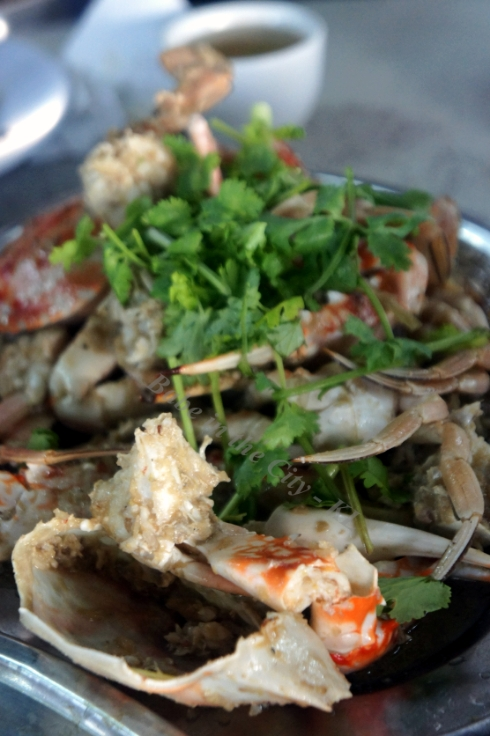 Stir-fry Ginger Crabs