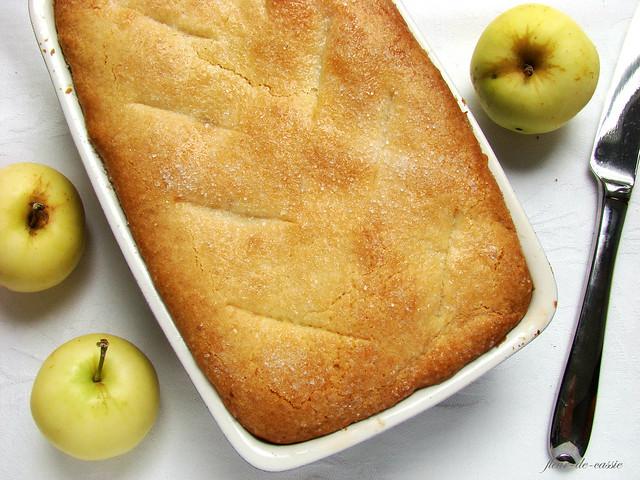 пирог яблочный русский 1