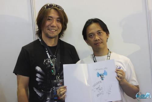 Aki-sachou with Pus2meong