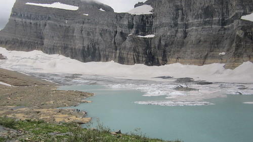 view of the Grinner glacier