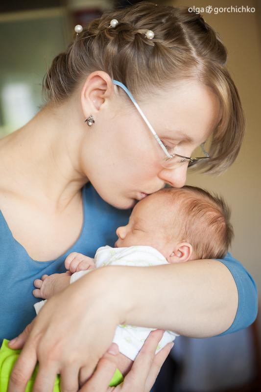 Фотосессия новорожденных. Настенька, 16 дней