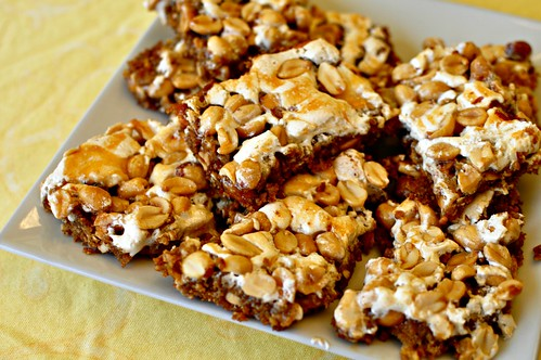 Peanut Malllow Bars