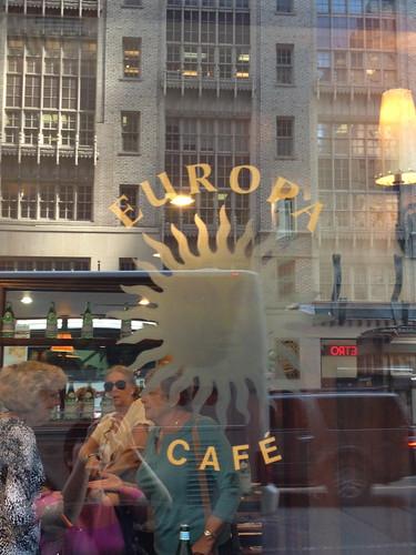 ヨーロッパカフェという名のお店。