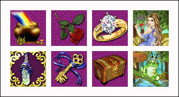 free Magic Charms slot game symbols