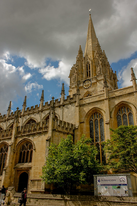 The University Church of St Mary the Virgin de Oxford